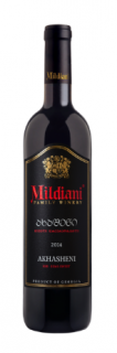 "Вино ""Ахашени"" кр.п/сл. 0,75л. ТМ ""MILDIANI FAMILY WINERY"""